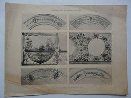 Documents Anciens De La Manufacture Nationale De SEVRES - G. Lechevallier-Chevignard - Planche 28 - Epoque Empire - Sèvres (FRA)