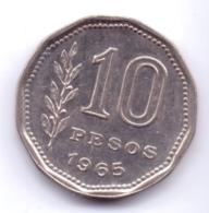 ARGENTINA 1965: 10 Pesos, KM 60 - Argentine