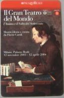 NUOVA -1745-TELECOM ITALIA--IL GRANDE TEATRO DEL MONDO - Italia