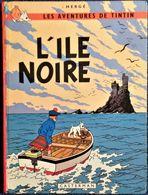 Hergé -TINTIN -  L' Île Noire - Casterman - ( B 39 ) . - Tintin