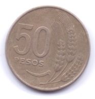 URUGUAY 1970: 50 Pesos, KM 57 - Uruguay