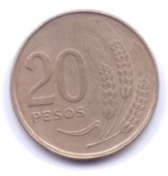 URUGUAY 1970: 20 Pesos, KM 56 - Uruguay