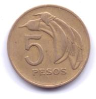 URUGUAY 1969: 5 Pesos, KM 53 - Uruguay