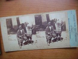 Voyage DANS LES PYRENEES LUCHON Marchand Espagnols SARAGOSSE - Diapositives