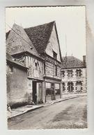 CPSM AUBIGNY SUR NERE (Cher) - Vieille Maison De Bois Rue Des Foulons - Aubigny Sur Nere