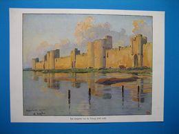 (1930) AIGUES-MORTES - Les Remparts Vus De L'étang (côté Sud) - Vieux Papiers