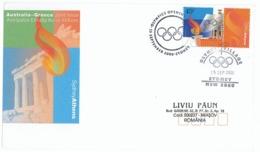 COV 65 - 1088 OLYMPIC GAMES, Sydney - Cover - Used - 2000 - Estate 2000: Sydney