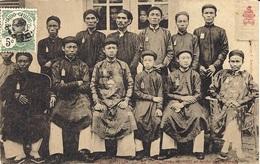 1004- ANNAM - HUE -les Frères Du Roi Et Leurs Précepteurs - Ed. Dieulefils - Vietnam