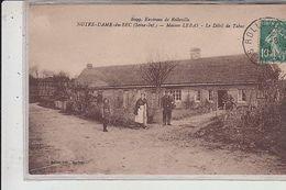 76 - NOTRE DAME Du BEC - Maison LEBAS -  Débit De Tabac..1923 - Francia