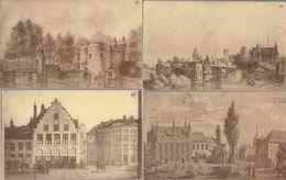 Lot De 15 CPA Tentoonstelling Oud-Brugge 1925 Toutes Différentes, Envoyées à Bois-d'Haine Par Le Même Expéditeur (1941) - Brugge