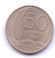 URUGUAY 1971: 50 Pesos, KM 57 - Uruguay