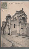 CPA 37 TOURS Basilique Saint-martin - N° 101 Grand Bazar, Voyagée, écriture Plume Timbrée, Année 1905, DD - Tours
