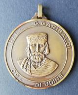 Médaille Maçonnique G. GARIBALDI Orient Di Udine - Freemasonry
