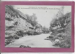 25.-  De  Pontarlier à Morteau , Les Gorges Du Doubs  Au Péage - Other Municipalities