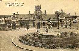 028 570 - CPA - Belgique - Vilvoorde - Vilvorde - La Gare - Vilvoorde