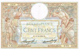 Banque De France 100FR 1934 - Frankrijk