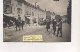 CARTE PHOTO GERARDMER PRISONIERS ALLEMANDS 25 AOUT 1915 - Gerardmer