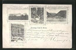 "CPA Jamestown / St. Helena, Vue Générale, Napoleon's Haus ""Longwood"" - Saint Helena Island"