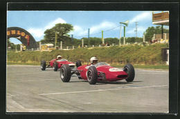 AK Motor Racing At Brands Hatch, A Repco Brabham Ford Leading - Non Classés