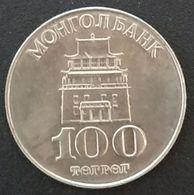 MONGOLIE - MONGOLIA - 100 Tögrög 1994 - KM 124 - Mongolie