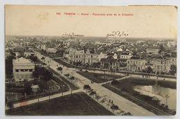 C. P. A. : TONKIN : Hanoï : Panorama Près De La Citadelle, Inscriptions Manuscrites De Localisation, Timbres En 1911 - Vietnam