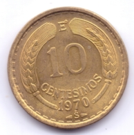 CHILE 1970: 10 Centesimos, KM 191 - Chili