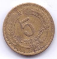 CHILE 1966: 5 Centesimos, KM 190 - Chili