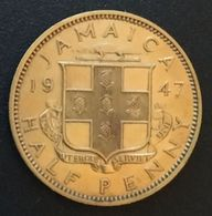 JAMAIQUE - JAMAICA - ½ - 1/2 - HALF PENNY 1947 - George VI - KM 31 - Jamaica