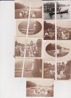 OUD-HEVERLEE-ZOETE WATERS-SCHOOLUITSTAP-KINDEREN+JUFFROUWEN-VAN LEUVEN-JAREN 20+30-9 ORIGINELE FOTOS+-8,5-6 CM-MOOI! - Oud-Heverlee