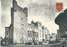 CARTE POSTALE 1955 AVEC TIMBRE A 10 FR BLASON DE NARBONNE - 1921-1960: Moderne