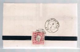 Portugal, 1870/6, Cea-Porto - Briefe U. Dokumente