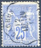 France N° 78 TAD Convoyeur Station ACACHON ARC.LAM - (F1356) - 1876-1898 Sage (Type II)