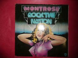 LP33 N°4932 - MONTROSE - ROCK THE NATION - TRES BON GROUPE - Hard Rock & Metal