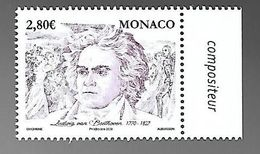 Monaco 2020 - 250 ème Anniversaire De La Naissance De Ludwig Van Beethoven ** - Monaco