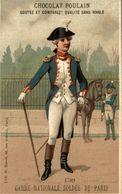 CHROMO CHOCOLAT POULAIN 1789 GARDE NATIONALE SOLDEE DE PARIS - Poulain