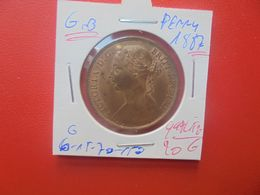 GRANDE-BRETAGNE 1 PENNY 1887 BELLE QUALITE  (A.14) - 1816-1901: 19. Jh.