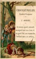 CHROMO CHOCOLAT POULAIN L'AVARE - Poulain
