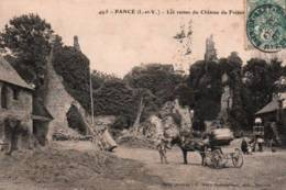 CPA - PANCE - Les RUINES Du CHÂTEAU Du FRETAIS - Edition Mary-Rousselière - Francia