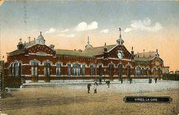 028 587 - CPA - Belgique - Ieper - Ypres - La Gare - Ieper