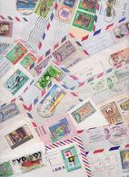 BAHAMAS - Beau Lot Varié De 208 Enveloppes Timbrées Timbres Lettre Stamped Air Mail Covers Batch Of Letters Stamps Cover - Bahamas (1973-...)