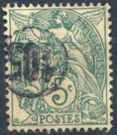 France N°111 - Oblitération Jour De L'an Cercle 105 - (F1368) - 1900-29 Blanc