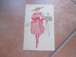 1917 Donnine Women COPPIA Moda Stlizzata Viaggiata POSTA MILITARE - Altri