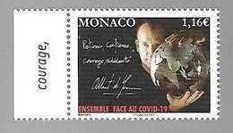 Monaco 2020 - Yv N° 3235 ** - Ensemble Face Au COVID-19 - Ungebraucht