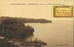 Afrique Equatoriale CAMEROUN  Douala Crique Du Docteur + Beau Timbre 10c Cameroun RV - Camerún