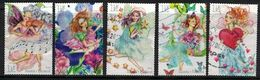2010 Finland, Fairies,  Complete Set Used. - Finland