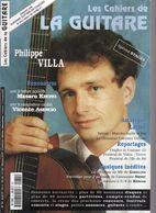 Revue De Musique - Les Cahiers De La Guitare - N° 74 - Philippe Villa - Music