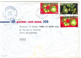 Polynesie : Lettre Timbres De Service 5, 6, 11 VI Tahiti, Avocat - Polynésie Française
