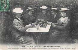 75     Paris       Paris Moderne - Les Femmes Cochers - France