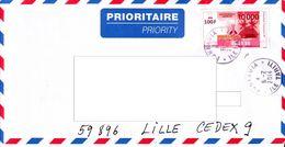 Polynesie : Lettre Billet De Banque Ancien De 10 000 FCFP - Polynésie Française