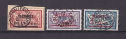 Memelgebiet - 1921/22 - Michel Nr. 36/38 - Gestempelt - 46 Euro - Klaipeda